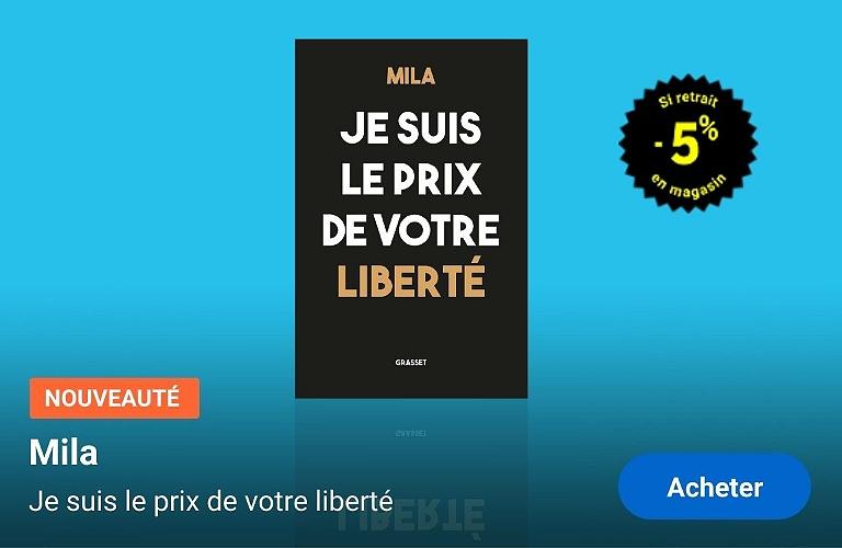 Mila - Je suis le prix de vote liberté