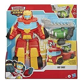 Playskool Heroes Transformers Rescue Bots Academy - Rescue Power Hot Shot - Transformers - E75915L0
