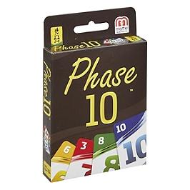 Mattel Games - Phase 10 - Jeu De Cartes Familles - 7 Ans Et +  - Jeux Mattel - FFY05