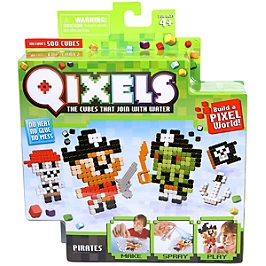 Mini Kit Créations Qixels Pirates - KK87041