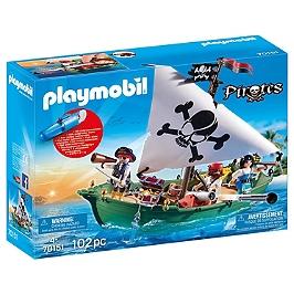 Chaloupe Des Pirates Avec Moteur Submers - Na - 70151