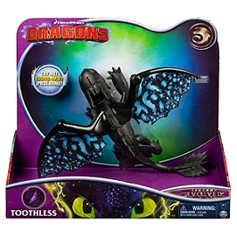Figurine Dragon Deluxe Krokmou Film Dragons 3 (Solid)(Polybag) - Dragons - 6053477