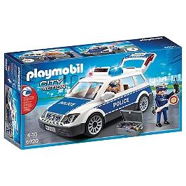 PLAYMOBIL - Voiture De Policiers Gyrophare Et Sirène - 6920
