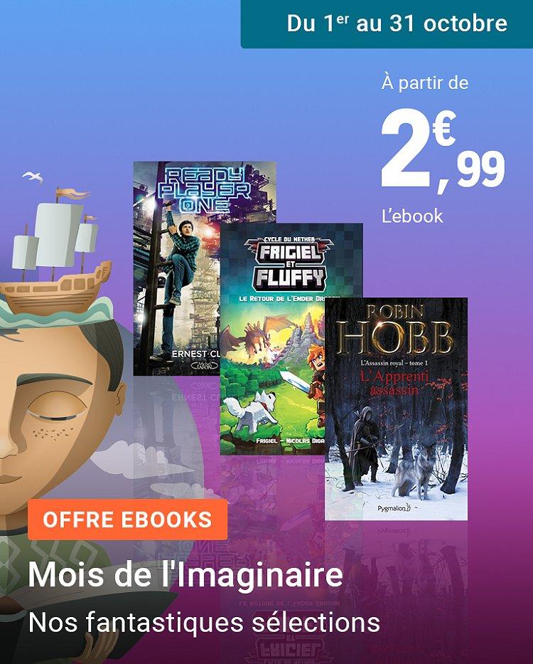 Ebooks : le mois de l'imaginaire