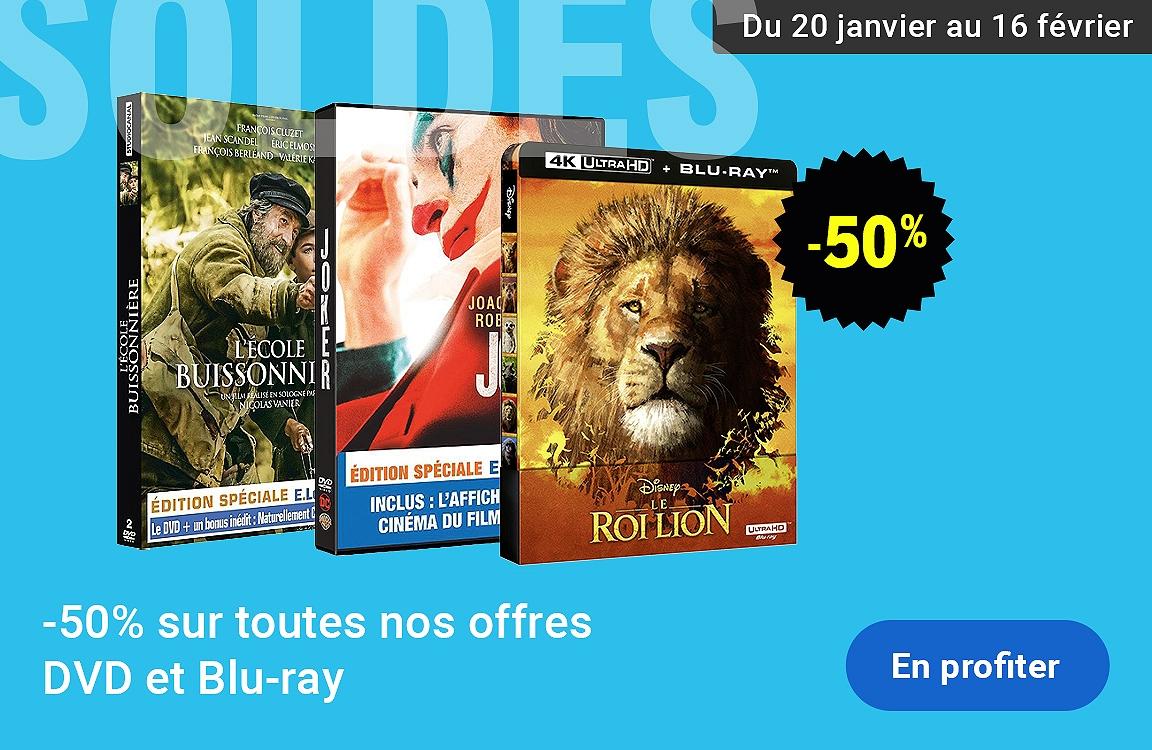Soldes DVD & Blu-ray