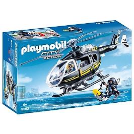Hélicoptère et policiers d'élite - 9363