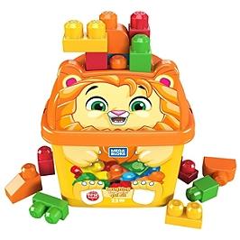 Mega Bloks - Coffret Animal Lion Rigolo - Briques De Construction - 12 Mois Et + - Mega Bloks - GPG20