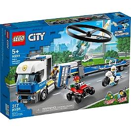 Lego® City - Le Transport De L'hélicoptère De La Police - 60244 - 60244
