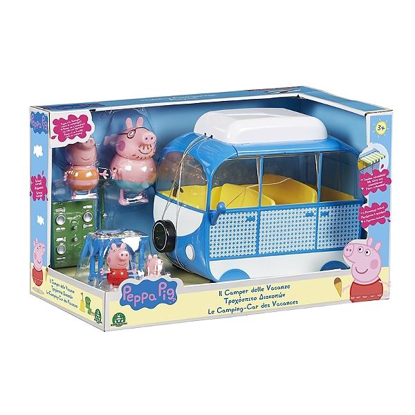 Peppa En 4 One Et Car Avec Vacances Pig Personnages Le Camping Entertainment Accessoires 0P8wOnXk