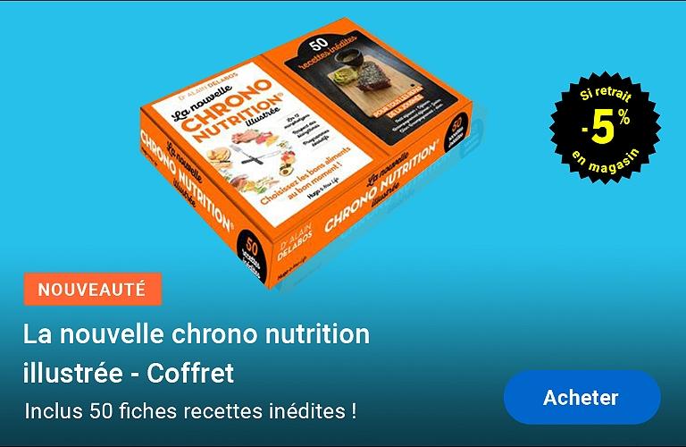 Alain Delabos - La nouvelle chrononutrition illustrée (coffret)