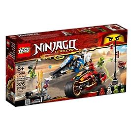 LEGO® NINJAGO® - La moto de Kai et le scooter des neiges de Zane - 70667 - 70667