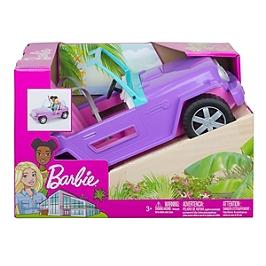 Barbie - Le Buggy De Barbie - Véhicule Poupée Mannequin - 3 Ans Et + - Barbie - GMT46