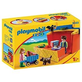 PLAYMOBIL - Étal de marché transportable - 9123