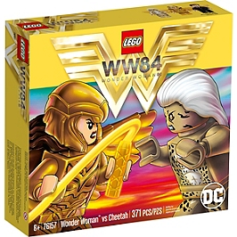 Lego® Dc Comics Super Heroes - Wonder Woman Vs Cheetah - 76157 - 76157