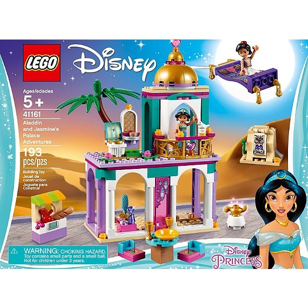 41161 Aventures Au Et De Lego® Palais Jasmine Disney Aladdin Princesstm Les wOkuTXlPZi