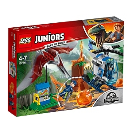 LEGO - LEGO® 4+ Jurassic WorldTM - La fuite du ptéranodon - 10756 - 10756