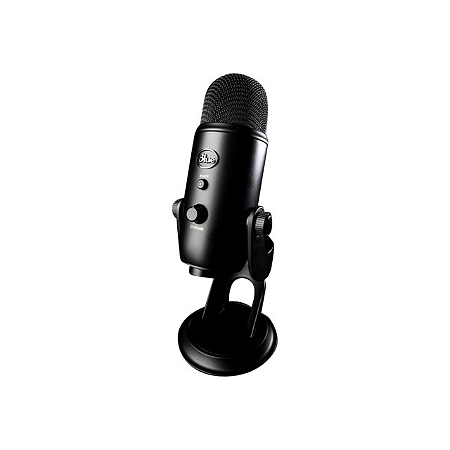 microphone blue yeti blackout e leclerc high tech. Black Bedroom Furniture Sets. Home Design Ideas
