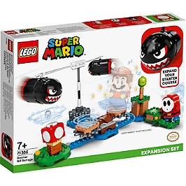 Lego® Super Mario - Ensemble D'extension Barrage De Bill Bourrins - 71366 - 71366