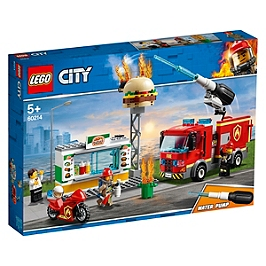 Lego® City - L'intervention Des Pompiers Au Restaurant De Hamburgers - 60214 - 60214