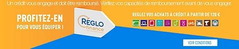 Avec le crédit Réglo finance, réglez vos achats à crédit