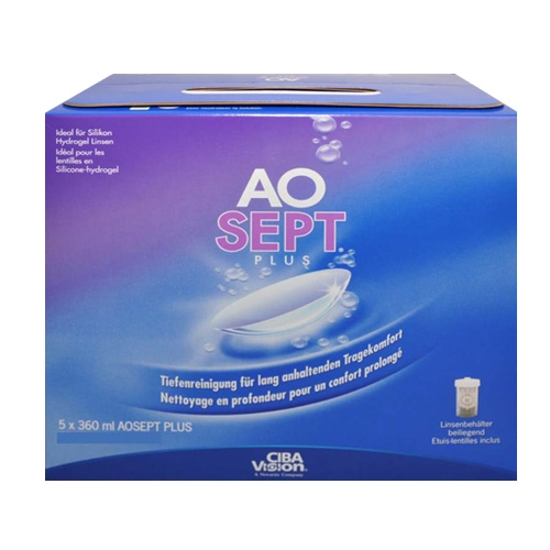 AOSEPT Plus MultiPack 5 x 360 ml ?? Aosept Plus Pack 5x360ml