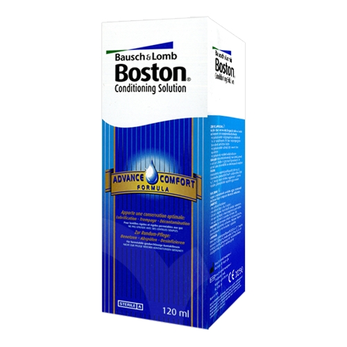Produit d'entretien Bausch&Lomb Boston Advance Conservation - 1 flacon de 120 ml