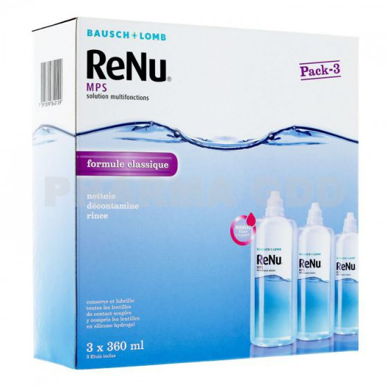 ?? Renu MPS - Multi Purpose Solution 3X360ml