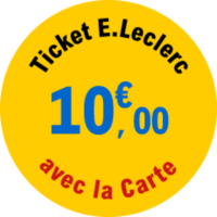 ticket leclerc