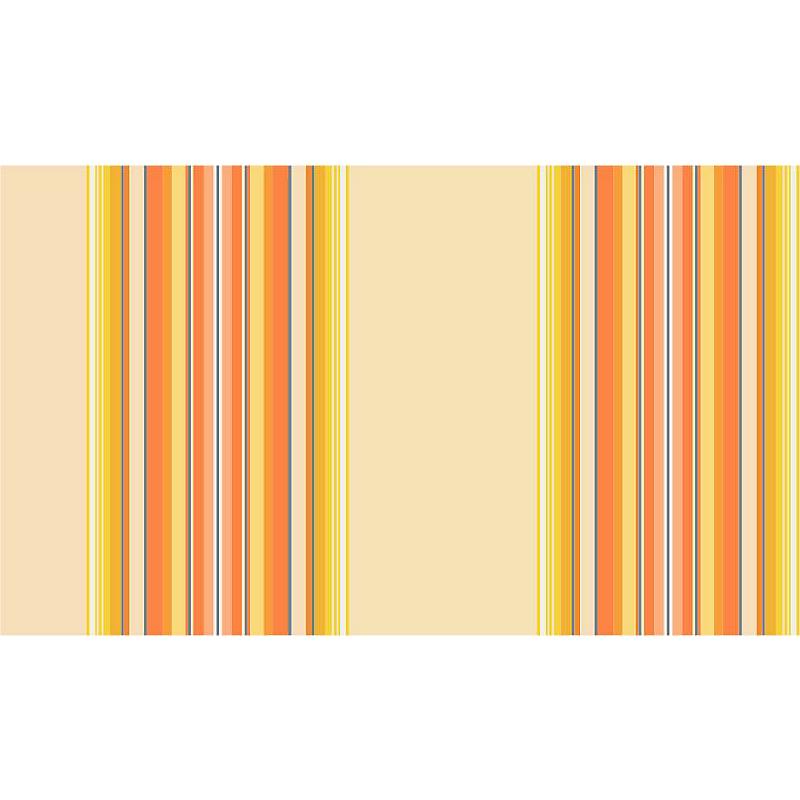 Store coffre Ottawa aluminium blanc et orange manuel 3 x 2
